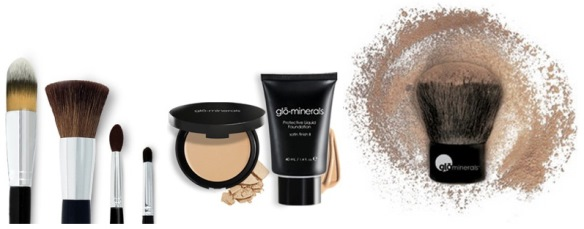 Glominerals is a great line of cosmetics available at Belle Vie that delivers unsurpassed coverage & UV sun protection.
