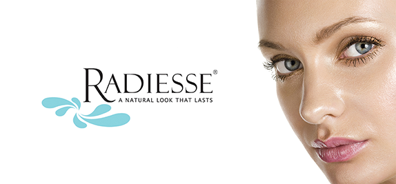 Radiesse is an injectable dermal filler that stimulates collagen growth, adding volume to contour & beautify your face.