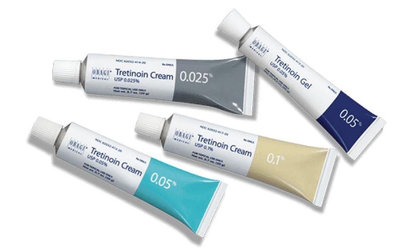 Tretinoin, an effective medical topical treatment used to resolve acne vulgaris, is available in 3 different strengths.