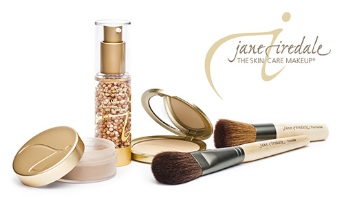 Jane Iredale, a line of makeup providing beautiful coverage, improves your skin's appearance and condition.